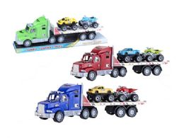 36 Units of Friction Truck Carrier - Cars, Planes, Trains & Bikes
