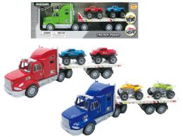 24 Units of Friction Truck Carrier - Cars, Planes, Trains & Bikes