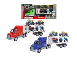 18 Units of Friction Truck Carrier - Cars, Planes, Trains & Bikes