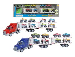 12 Units of Friction Truck Carrier - Cars, Planes, Trains & Bikes
