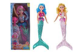 18 Units of Beauty Jumbo Mermaid Doll Play Set - Dolls
