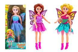 24 Units of Beauty Jumbo Fairy Doll - Dolls