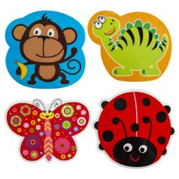96 Units of Kids Plastic Place Mat - Plastic Dinnerware