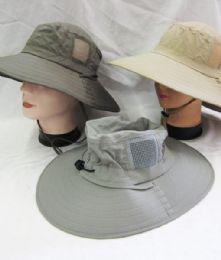 24 Wholesale Men's Fishing Safari Boonie Hat