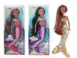 48 Units of Beauty Mermaid Doll - Dolls