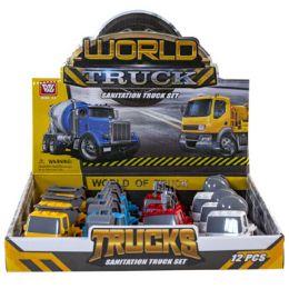24 Wholesale Construction Toy Trucks