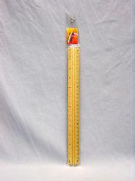 576 Bulk Ruler, Metal 12in. Asst. cl