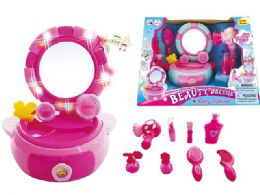 16 Units of Beauty Vanity Set with Light and Sound - Girls Toys