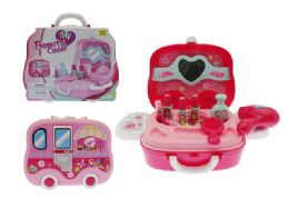 24 Units of Beauty Carry Case with Accessories - Girls Toys