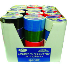 54 Wholesale Economy Duct Tape Assorted Color
