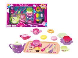 18 Units of Tea Play Set - Toy Sets