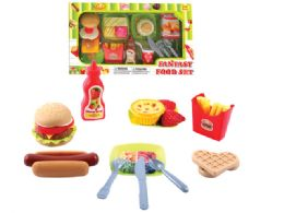 16 Units of Kitchen Food Play Set - Toy Sets
