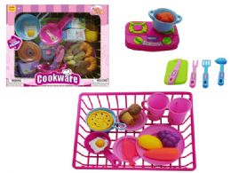 24 Units of Kitchen Set with Dish Drainer - Toy Sets
