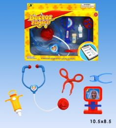 48 Wholesale Doctor Set In Box 2 Assorted Colors