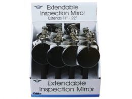 24 Units of Extendable Adjustable Mirror In Pdq - Auto Accessories
