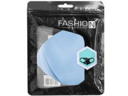 60 Units of Assorted Colors Washable Mask - Face Mask