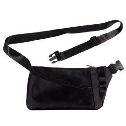 24 Units of Men's Sling Bag Casual Daypack Lightweight Shoulder Bag In Black - Fanny Pack
