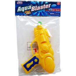 """48 Units of 7"""" Water Gun In Poly Bag W/ Header, 3 Assrt Clrs - Water Guns"""