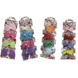 54 Units of Four Piece Child Hair Clip - Hair Products