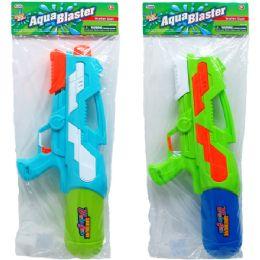 """12 Units of 18.5"""" Water Gun W/ Pump Actn In Poly Bag W/header, 2 Asst - Water Guns"""