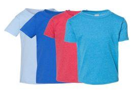 72 Units of Gildan Irregular Youth T-Shirts Assorted Colors - Boys T Shirts