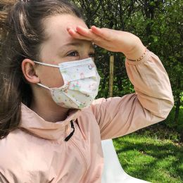 50 Wholesale Disposable Kids 3ply Printed Face Cover For Health Protection