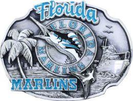 6 Units of Florida Marlins Belt Buckle - Belt Buckles