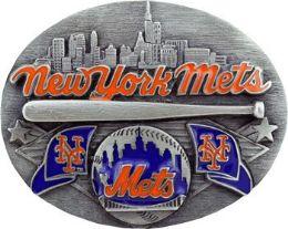 6 Units of New York Mets Belt Buckle - Belt Buckles