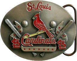 6 Units of Saint Louis Cardinals Belt Buckle - Belt Buckles