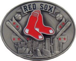 6 Units of Boston Red Sox Belt Buckle - Belt Buckles