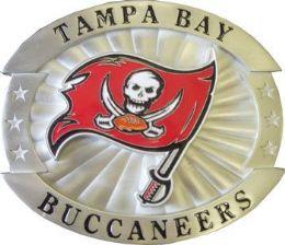 6 Units of Tampa Bay Buccaneers Belt Buckle - Belt Buckles