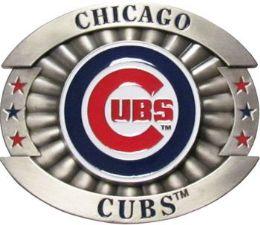 6 Units of Chicago Cubs Belt Buckle - Belt Buckles