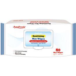 24 Bulk Antibacterial Wipes 80 Count