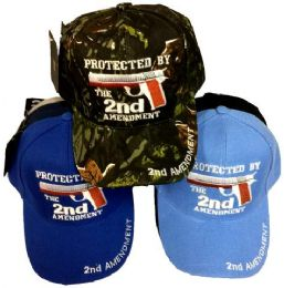 24 Wholesale Wholesale Protected By The 2nd Amendment Hat