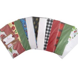 72 Units of Tissue Paper 10sheet 2step - Gift Wrap