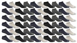 240 Units of Yacht & Smith Womens Light Weight No Show Ankle Socks Solid Assorted 4 Colors - Women's Socks for Homeless and Charity