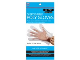 72 Units of 100 Pack Disposable Gloves - PPE Gloves