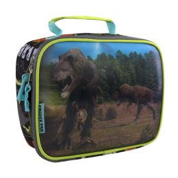 24 Units of Fridge Pack Dino Lunch Bags - Lunch Bags & Accessories