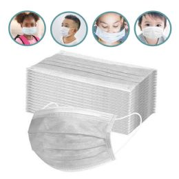 50 Units of Children's 3 Ply Disposable Protection Masks - Face Mask