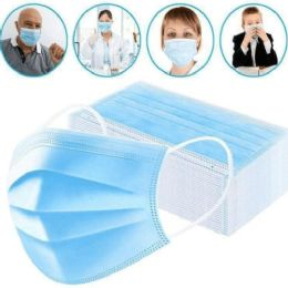 50 Units of 3 Ply Disposable Protection Masks - Face Mask