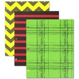 96 Units of Printed Two Pocket Folders - Folders & Portfolios