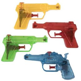 50 Units of Water Blaster Pistol Assorted Colors - Water Guns