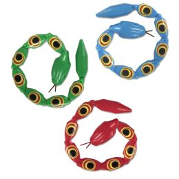 50 Units of Toy Snake With Movable Joints - Animals & Reptiles