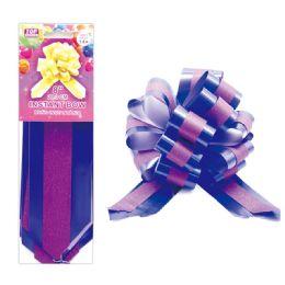 96 Wholesale Instant Bow Purple
