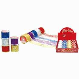 144 Units of X'mas Gift Ribbon - Christmas Gift Bags and Boxes