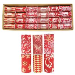 96 Units of X'mas Gift Ribbon - Christmas Gift Bags and Boxes