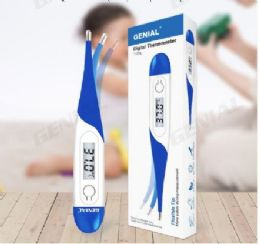 50 Wholesale Genial Digital Oral Thermometer Blue