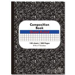 48 Bulk Quad Ruled Composite Book