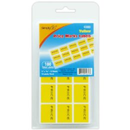 144 Units of 21 Count Price Mark Label - Reinforcement Stickers & Labels