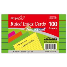 108 Units of Index Card Fifty Count - Dividers & Index Cards